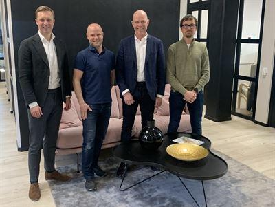 Gustaf Larsson Ernefelt, Magnus Medrin, Patrik Persson och Niclas Moberg.