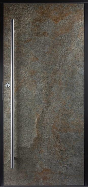 ARGENT skapar en känsla av naturlig sten med mycket liv och rörelse. Ytan glimmar metalliskt och har inslag av rostiga toner.