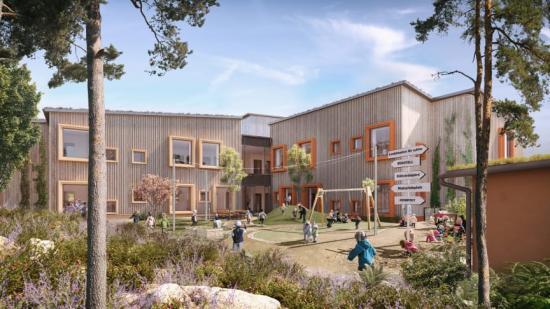 Hoppets förskola tar brons i Rethinking the Future Awards 2021 – Sustainable Project of the Year.