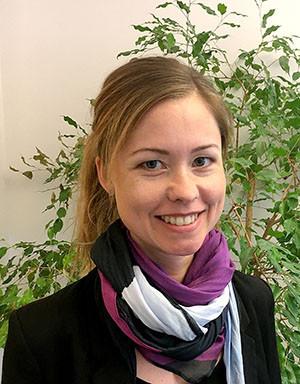 Jenny Adnerfall som är projektansvarig på GBR.