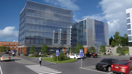 Med projekt 103 fortsätter Kraftstaden Fastigheter utveckla området Innovatum.