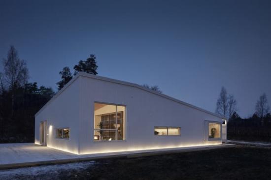 Exteriör för LAB #01 skapad i samarbete med arkitektkontoret Urban Design