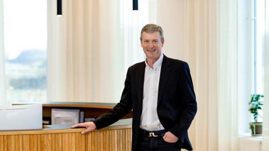 Jan Lövgren ser fram emot sin nya utmaning i rollen som VD för K-System.