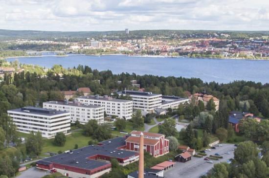 Diös fastighet på Frösö Strand, Östersund.