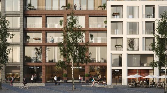 Bostads- och kontorsprojektet Kv. Fabriken av MAF Arkitektkontor (bilden är en illustration).