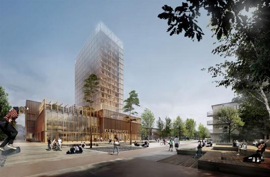 I Skellefteå har White gestaltat en av världens högsta träbyggnader, Sara Kulturhus. Med sina 20 våningar kommer projektet att bli en förebild inom hållbar design och träkonstruktion. Byggnaden invigs i höst 2021.
