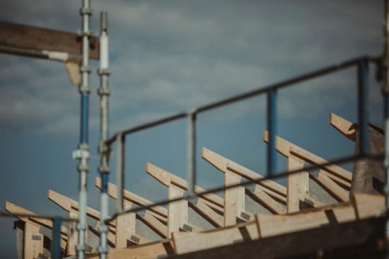 Byggmaterialvärdet ökade under första halvåret.