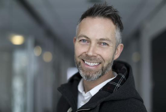 Terje Kaasa Larsen, regionchef på Peab i Norge.