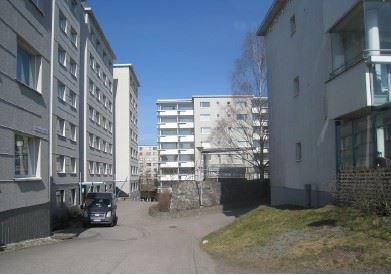 Hyresbostäderna i Pihlajisto, Helsingfors.