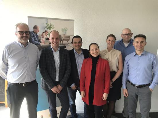 Teamet består av Tor Einar Norbakk, Redmar Drent (Vesta Chemicals), Matteo Barozzi, Cecilia Barozzi, Sara Wengström, Harry Kleinsmit (Vesta), Italo Rebuzzi (Barozzi).