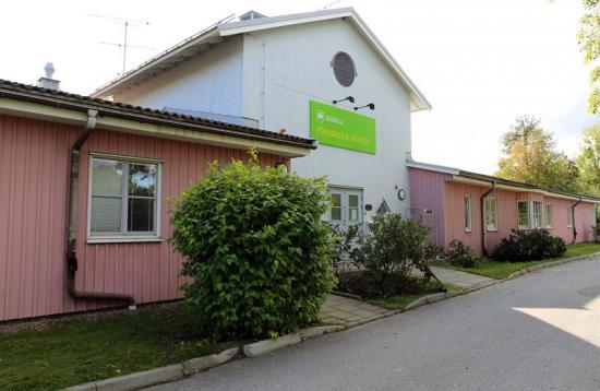 Järfälla förskola, som ligger på marken idag.