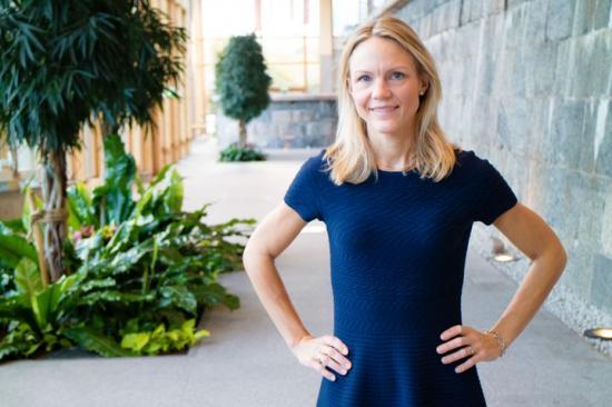 Maria Brogren, hållbarhets- och innovationschef på WSP.