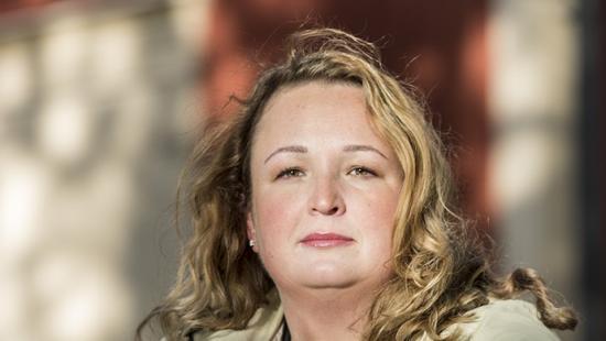 Carolina Stegman, Fastighetsmäklarförbundets vd.