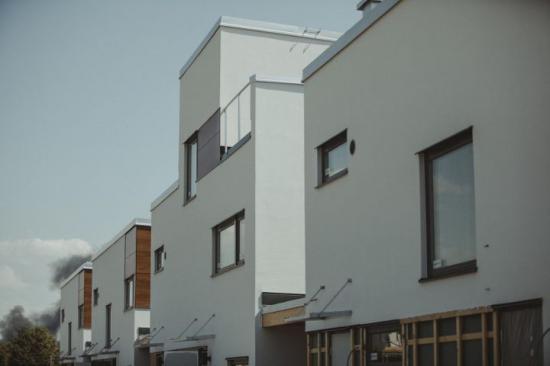 Köpenhamns bostadsbyggande mot strömmen under förra året.