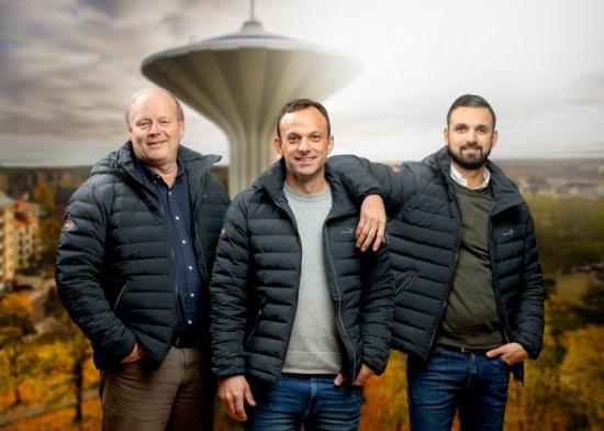 Branschprofilerna Thomas Jansson, Robert Davidsson och Jakob Akfidan har en tydlig målbild och en långsiktig plan för tillväxt för HMB Construction Örebro.
