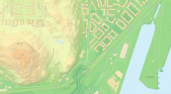 Stadsbyggnadskontoret fortsätter att publicera fler öppna grundläggande geodata med datamängder speciellt riktade till de som arbetar med att utveckla staden: baskartan, adresser och höjdmodell.