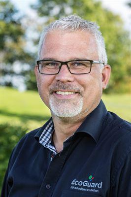Magnus Berbres, försäljningsansvarig, EcoGuard.
