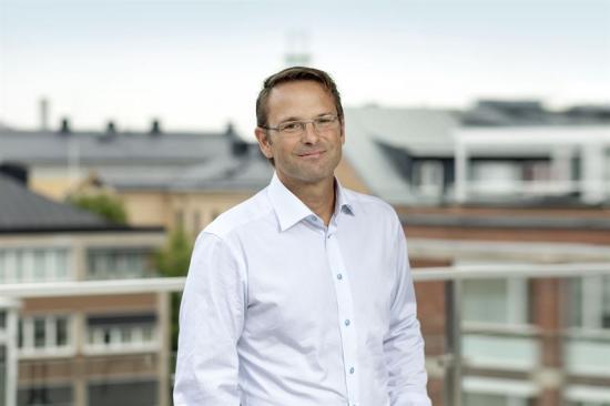 Niklas Sörensen, vd på Ramboll.