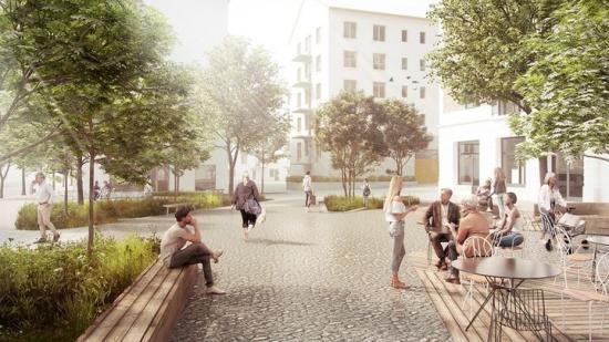I Årstastråkets tredje och sista etapp kommer Einar Mattsson bygga nya bostadsrättslägenheter (bilden är en illustration).