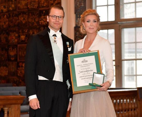 Prins Daniel och Jessica Löfström.