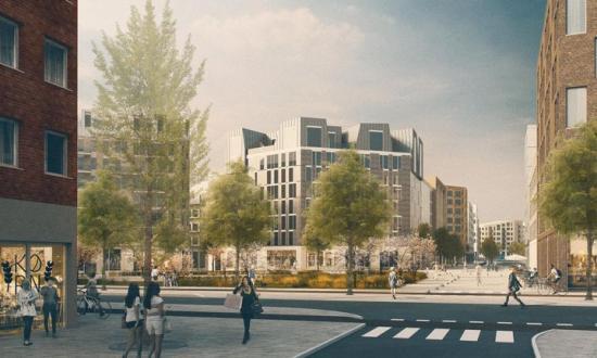 Kvalitetsprogrammetför Barkarbystaden III ska skapa bra förutsättningar för en stadsmiljö där människors behov och välbefinnande står i centrum och visa vägen för hur stadsdelens utformning kan bidra till ett resurseffektivt samhälle och innovation.