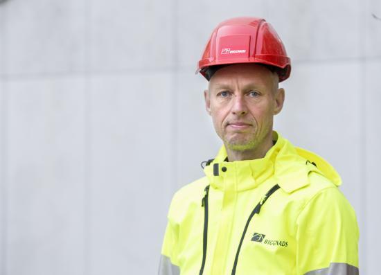 Torbjörn Hagelin, avtalssekreterare Byggnads