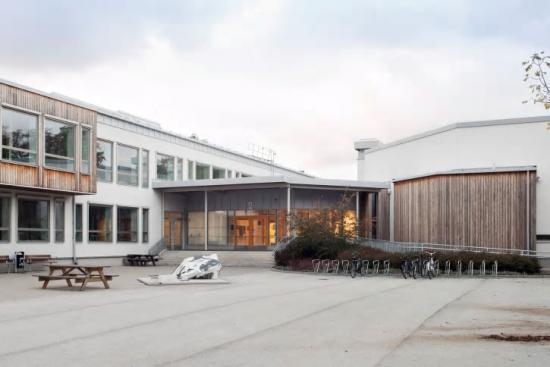 Sävehuset tillhör Wisbygymnasiet på Gotland.