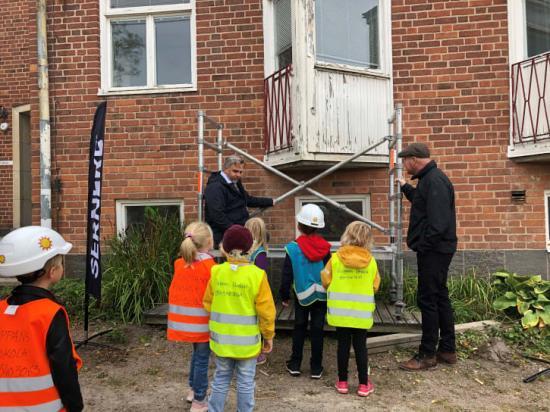 Startskott för renovering och utbyggnad av Vitsippans förskola.