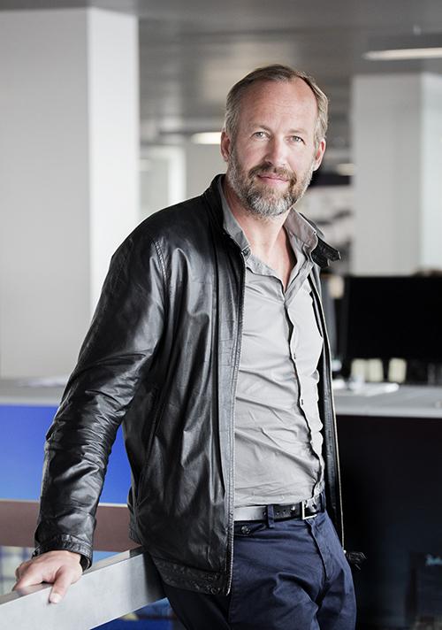 Mads Mandrup Hansen, Partner och arkitekt på C.F. Møller Architects.