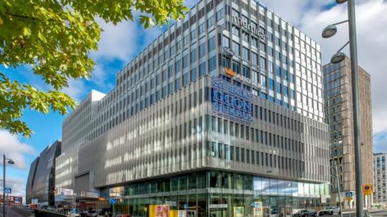 S:t Eriks Ögonsjukhus flyttade in i den nya fastigheten i september 2020.