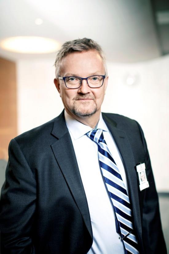 Mats Åkerlind, förhandlingschef på Sveriges Byggindustrier.