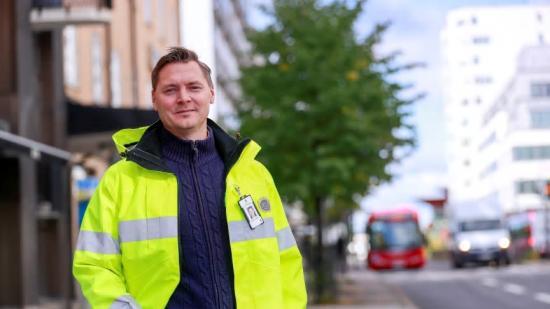 Mattias Lundström, vd HSB Norr, vill bygga fler bostäder i Skellefteå.