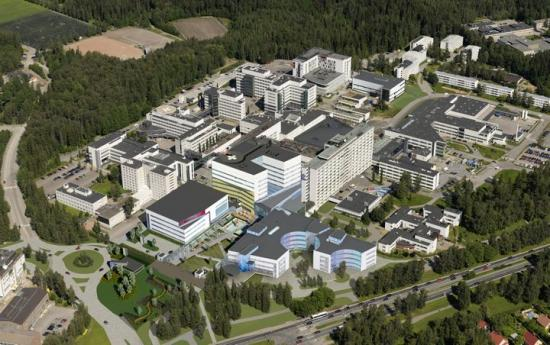 PSHP (Pirkanmaa Hospital Disctrict) i Finland. C.F.