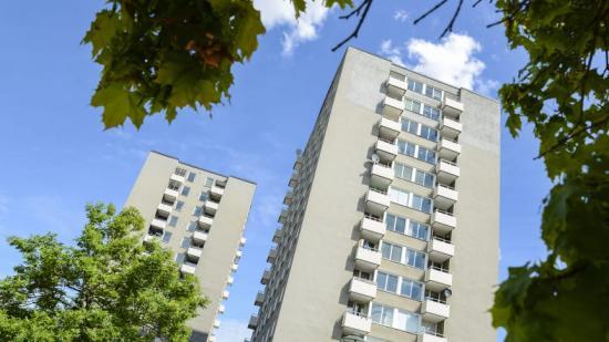 Energieffektivt renoverade hus i Valla torg – en hållbar lösning inom stadsutveckling som Stockholmshem genomförde i projektet GrowSmarter.