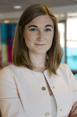 Amanda Tevell, ansvarig för Hållbar Fastighet.