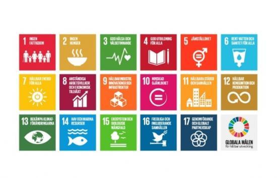 I arbetet har Energimyndigheten tagit avstamp i FN:s globala hållbarhetsmål. Det välkomnas av Swedisol, som sedan 2017 arbetar utifrån just de globala hållbarhetsmålen.
