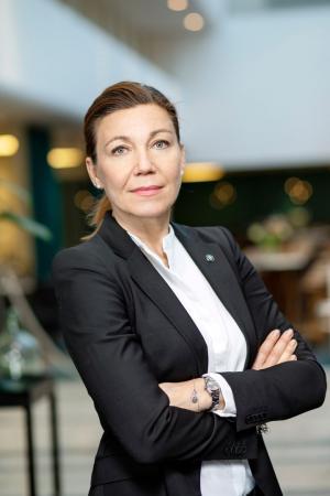 Tanja Rasmuson, näringspolitisk chef, Byggföretagen.