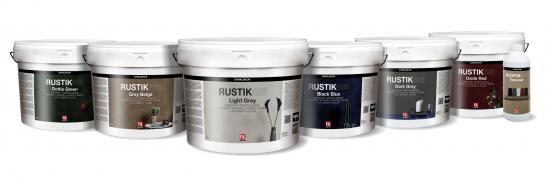 Rustik 636 kan hittas i sex moderiktiga färger.