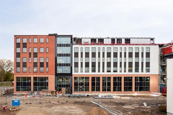 Färgeriet, nya stadsdelen Ebbepark i centrala Linköping.