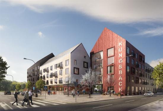 K2A utvecklar 400 bostäder i Gävle.