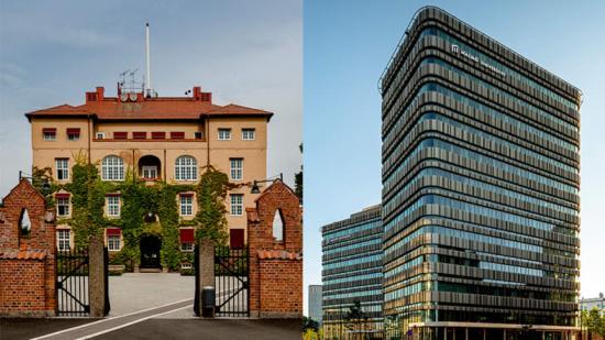 Campus Kristianstad och Niagara, Malmö universitet.