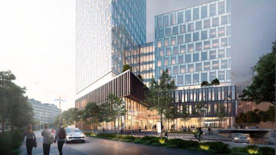 Strategisk Arkitektur utformar Skanskas nya kontor i Citygate, Göteborg (bilden är en illustration).