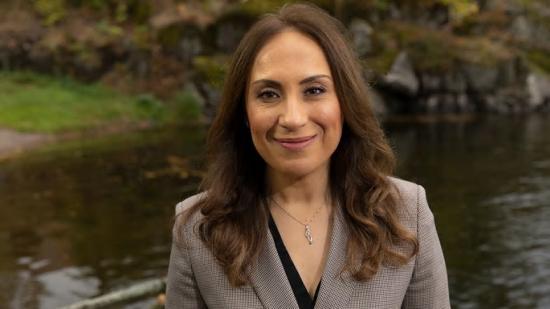 Farah Al-Aieshy, ny vd för Swecos projektledarverksamhet.