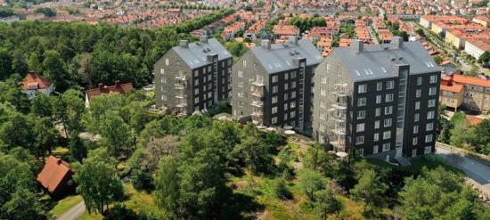 Projektet är populärt – redan två veckor efter säljstart var hälften av lägenheterna sålda (bilden är en illustration).