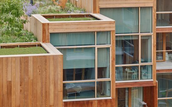 Byggherre är Oscar Properties och arkitektärBIG - Bjarke Ingels Group.