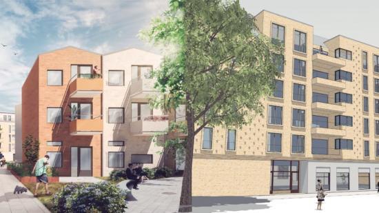 Nya lägenhetsprojekt för MKB i Malmö.