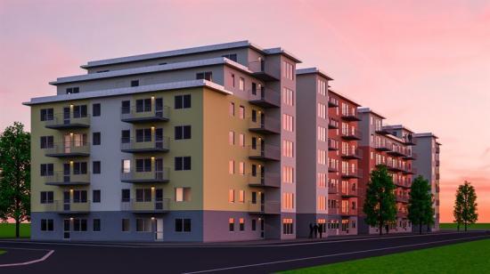 Kvarteret Puman 2 ska ge plats för 162 nya hem i Kalmar.