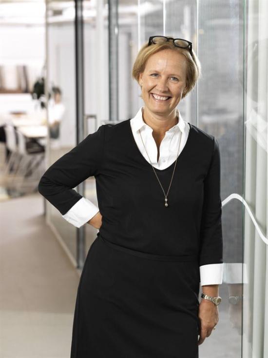 Maria Petersson, vd på Heimstaden Förvaltning.
