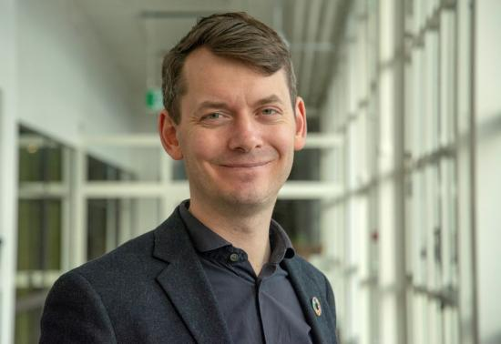 Johan Folkesson, chefsarkitekt, Trafikverket.