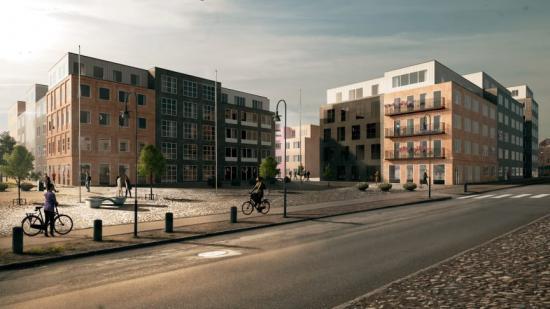 Delar av projektet som ska byggas i Norra Sorgenfri i Malmö (bilden är en illustration).